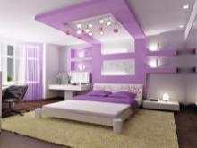 Bilik Tidur Violet 68 Gambar Reka Bentuk Dalam Warna
