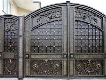 Puertas Metálicas 58 Fotos Vallas De Hierro Con Una