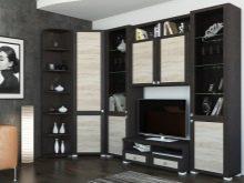 Eckmöbel für das Wohnzimmer (36 Fotos): weiche halbrunde ...