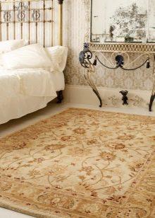Splitter nya Persisk matta (50 bilder): Iranska handgjorda silkemattor, ovala EY-07