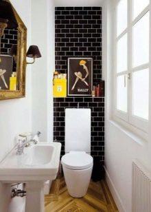 Hiasan Tandas 92 Gambar Pilihan Untuk Menghiasi Dinding Bilik Mandi Di Apartmen Daripada Untuk Menyelesaikan Dinding Selain Ubin Tandas Kecil Dengan Lamina