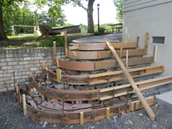 Betong Porch Frame