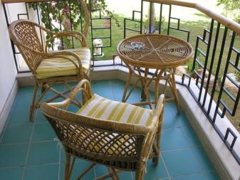 Meubles Sur Le Balcon 80 Photos Un Petit Canape Avec Un
