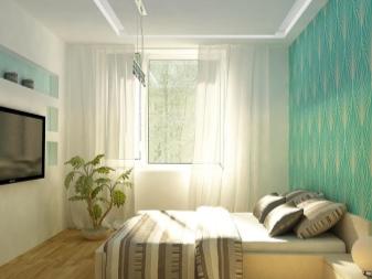 Design della camera da letto in \