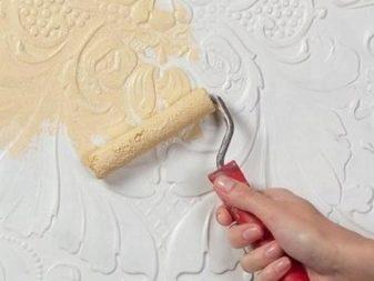 Verniciare Carta Da Parati.Carta Da Parati Per Dipingere 95 Foto Come Dipingere Sfondi Fai Da Te Non Tessuti Come Ridisegnare Sfondi Liquidi E Ordinari Con Un Rullo Sul Muro