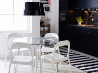 Tavolo in vetro Ikea (24 foto): modelli da tavolo bianchi ...