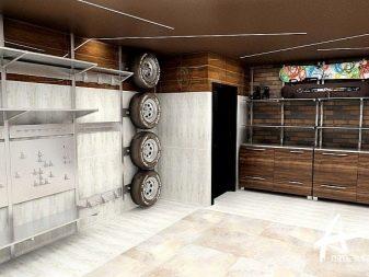 Scaffali Sospesi Garage.Scaffali Nel Garage Con Le Proprie Mani 89 Foto Opzioni