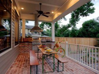 Casa Con Terraza Proyectos De Villas De Un Piso Con Garaje