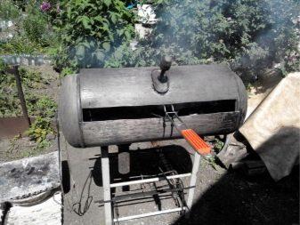 agganciare Grill a casa serbatoio propano