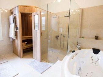 Sauna Nell Appartamento 73 Foto Mini Opzione A Casa A