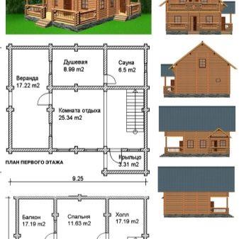 Progetti Di Case Di Tronchi 74 Foto Disegni Di Costruzioni Di Tronchi Versioni Di Edifici In Legno Per La Residenza Permanente Cottage Di Materiale Calibrato