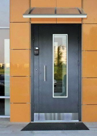 Puertas De Entrada Con Vidrio 66 Fotos Construcciones De Aluminio
