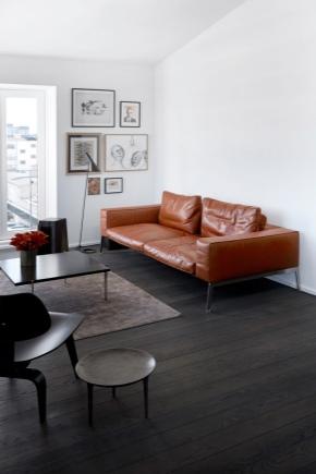 Canapé en faux cuir