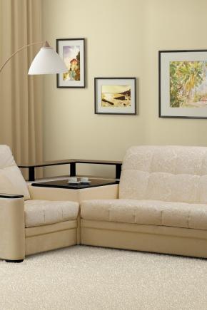 Canapé avec table