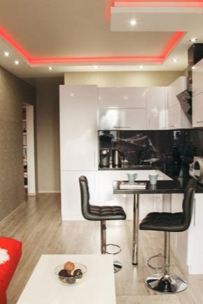 Design studio lägenhet på 18 kvadratmeter. m.