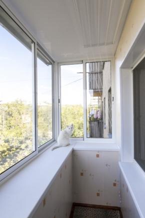 शीत चकाचौंध balconies