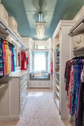 Wardrobe interior