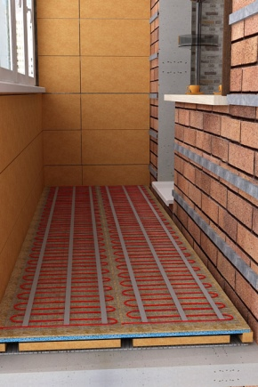 How to insulate the floor on the balcony?
