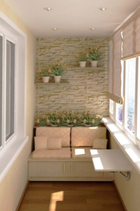 How to make a floor on the loggia?