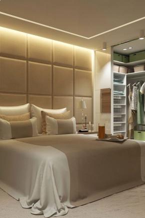 Small wardrobe room