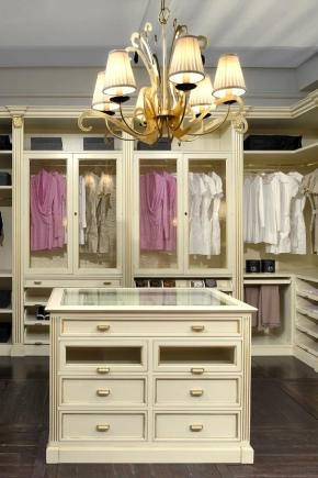 Furniture for the wardrobe room