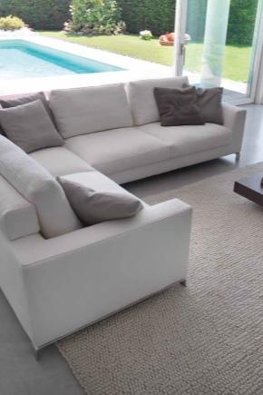 Canapé d'angle modulable