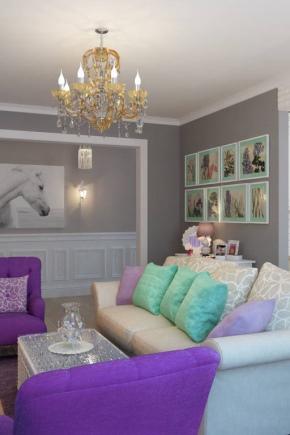 Stilar interiör studio lägenheter