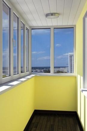 Warm glazed balcony