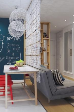 Zagospodarowanie mieszkania typu studio