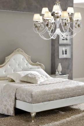 सफेद बेडरूम फर्नीचर
