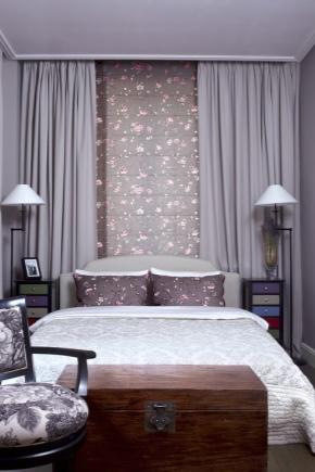 9 वर्ग मीटर का एक छोटा सा बेडरूम डिजाइन करें। मीटर
