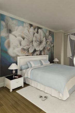 बेडरूम दीवार डिजाइन