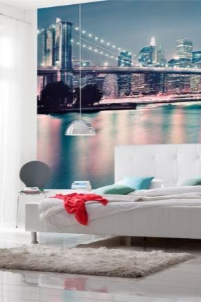 Papier peint photo dans la chambre