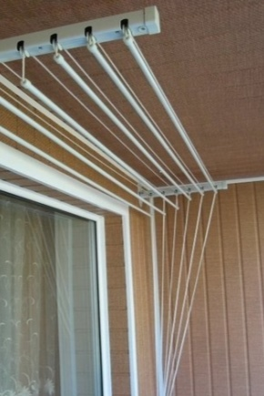 Ceiling dryer for balcony