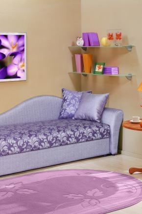 Fällbar soffa