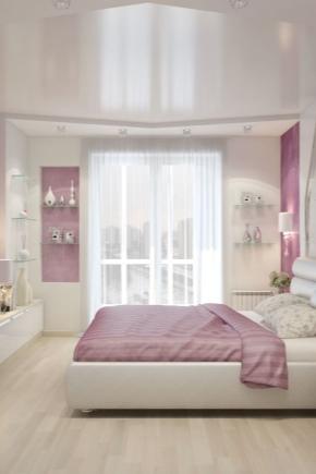 गुलाबी बेडरूम