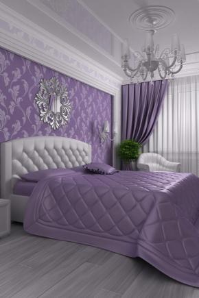 Camera da letto lilla (75 foto): idee di interior design nei ...