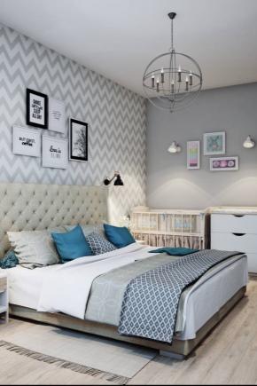 स्कैंडिनेवियाई शैली बेडरूम