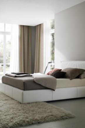 Una camera da letto in stile contemporaneo (156 foto): idee ...