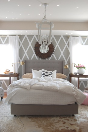 Il colore delle pareti della camera da letto (83 foto): di ...