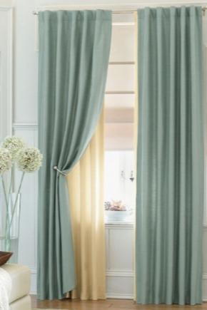Tende per la camera da letto (32 foto): bellissime tende per ...