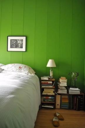 Camera da letto verde (63 foto): interior design con una ...