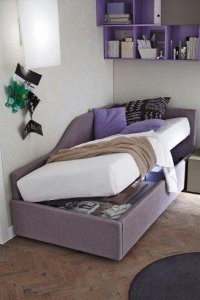 Ortopediska sängar med lyftmekanism