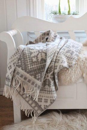 Couvertures de laine