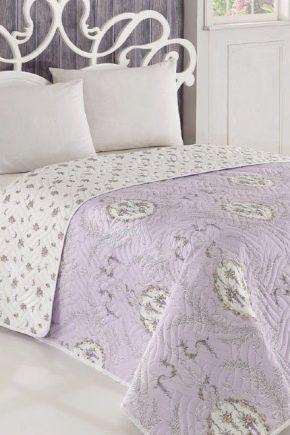 Quiltade sängkläder