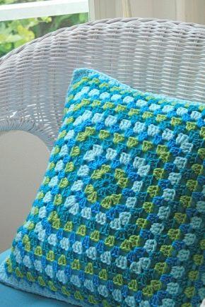 Oreillers tricotés