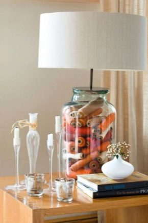 Lampshades: options for designs and features of choice