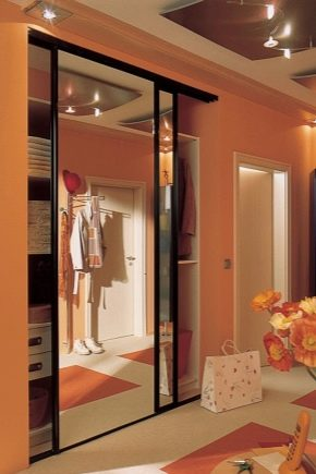 Design of cabinets in the hallway
