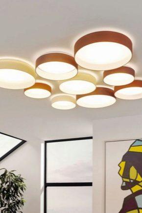 Runda LED-lampor