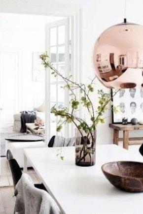 Ljuskronor i skandinavisk stil